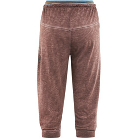 Red Chili Unra 3/4 Jersey Pants Women terra